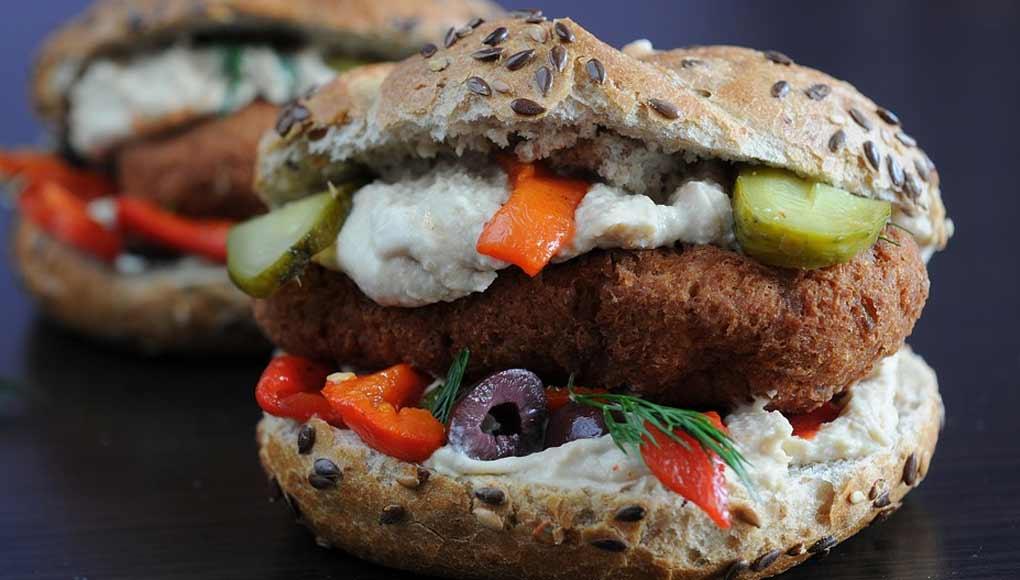 Sandwich Houmous & Poisson Panné